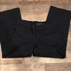 Dockers Black Khaki Metro Pants